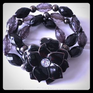 New York & Company Black Bracelet